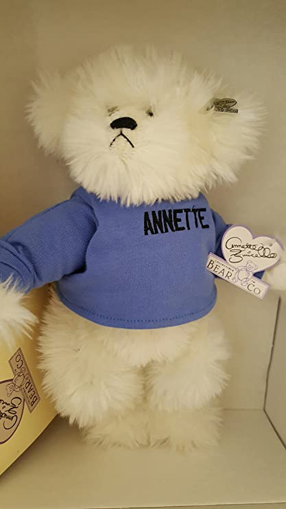 Dolls & Bears Smart Annette Funicello Collectible Bear