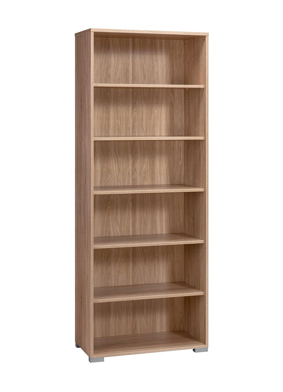 MAJA-Möbel 1733 5525 5525 5525 Aktenregal, Sonoma-Eiche-Nachbildung, Abmessungen BxHxT  80 x 214 x 40 cm 689fc8