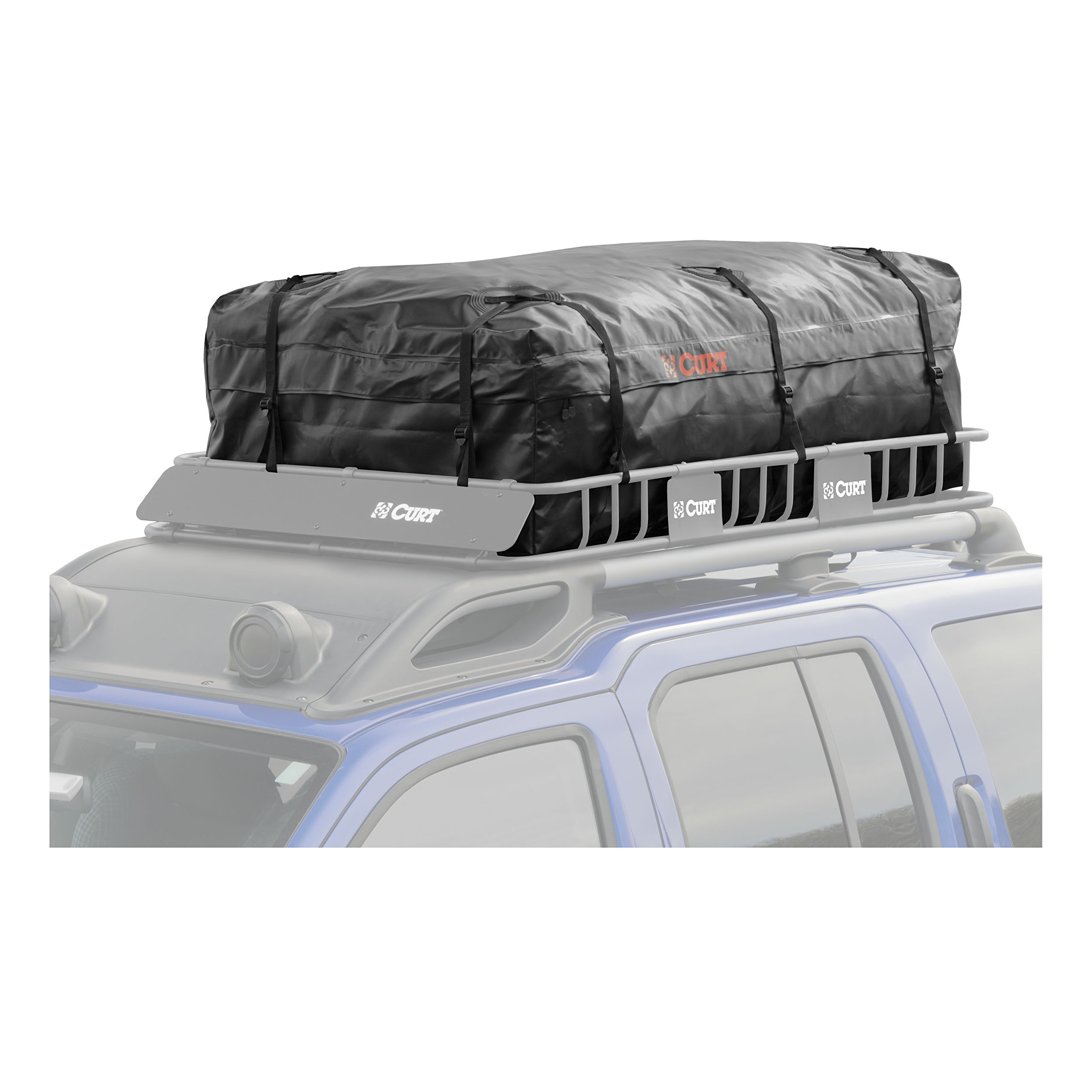 CURT 18221 Extended Roof Rack Cargo Bag by Curt Manufacturing (Image #6)