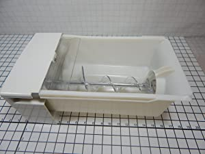 Ge WR17X23191 Refrigerator Ice Container Assembly Genuine Original Equipment Manufacturer (OEM) Part