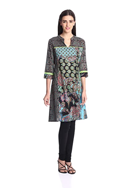 Rain And Rainbow Women A Line Kurta Kurtas at amazon