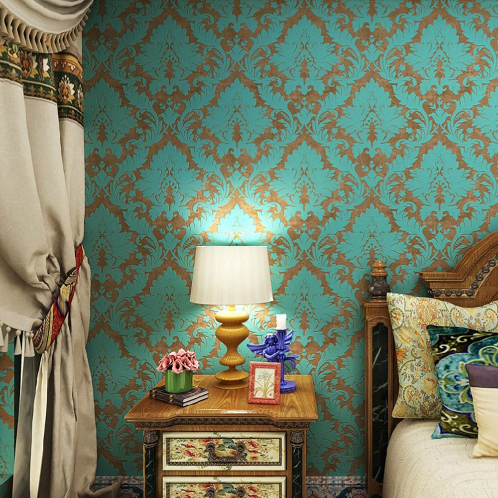 Wallpaper home vintage wallpaper home for Wallpaper for bedroom amazon