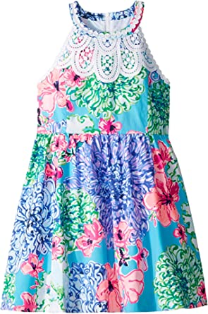 116d14384a17 Lilly Pulitzer Kids Baby Girl s Little Kinley Dress (Toddler Little  Kids Big Kids