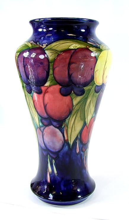 Vintage Moorcroft Vase Wisteria Design Lovely Vase Made In