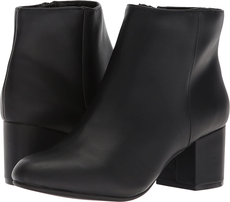 Steve Madden Women's Irina Ankle Boot B0774RXG73 7 B(M) US|Black Paris