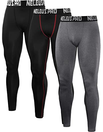 762e041e8b Neleus Men's 2 Pack Compression Tights Sport Running Leggings Pants