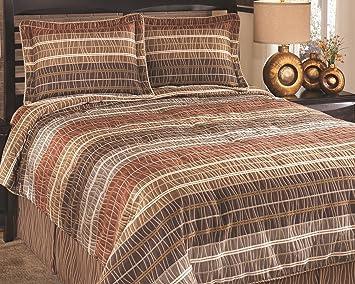 Amazoncom Ashley Furniture Signature Design Wavelength Bedding