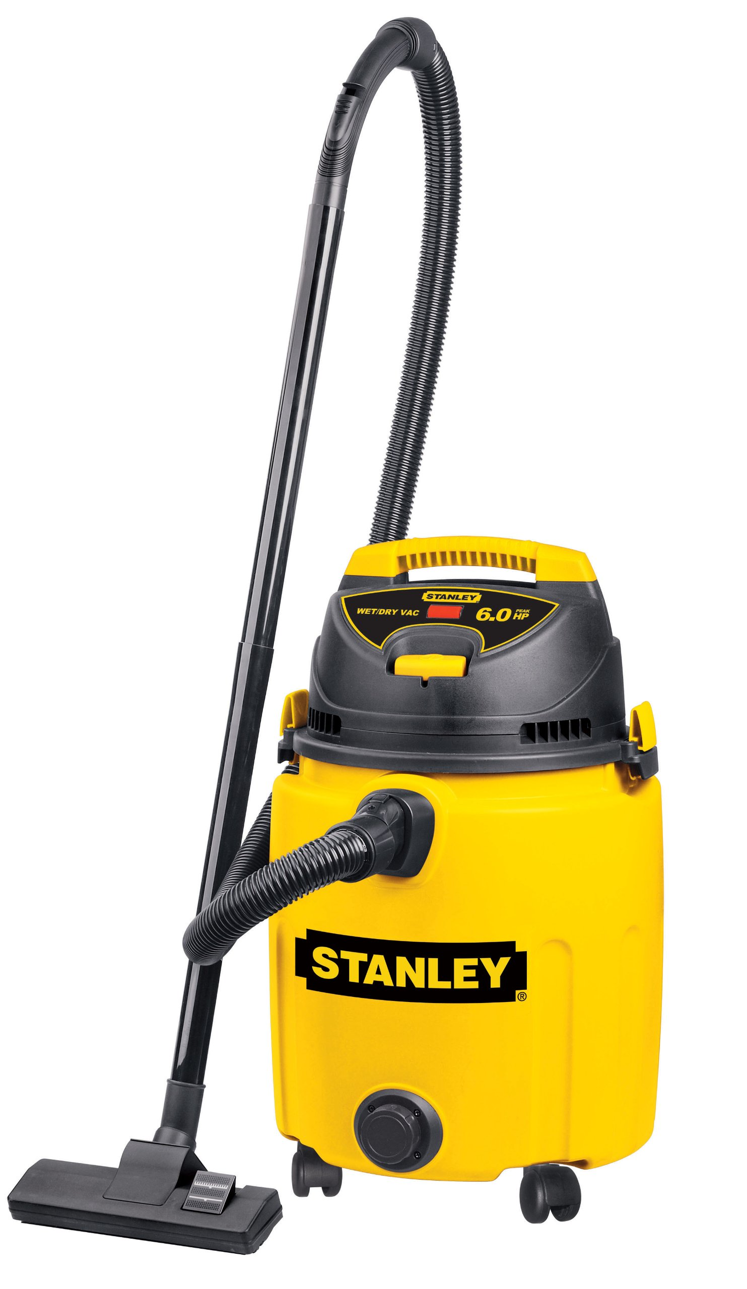 Stanley SL18014P 10-Gallon 5 Peak Pro Poly Series Horsepower Wet or Dry Vacuum Cleaner