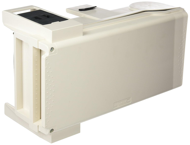 Schneider electric ksb50sf4conducteur/canal kS Boîte de dérivation pour fusible NF 14x 51mm, 3L + N + PE, 50A, 230–690V, 50/60Hz, Blanc