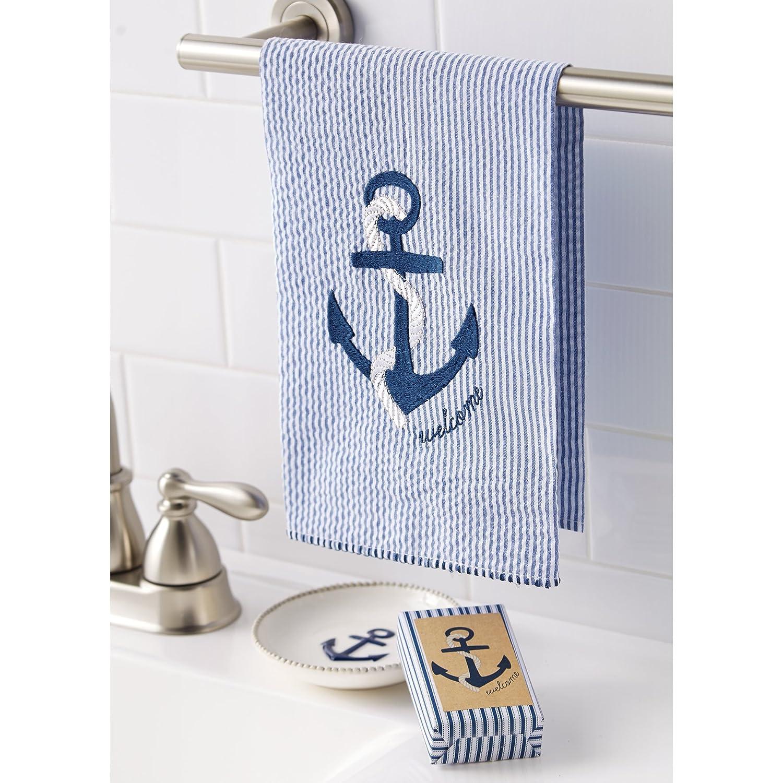 Mud Pie ships Wheel Towel Set