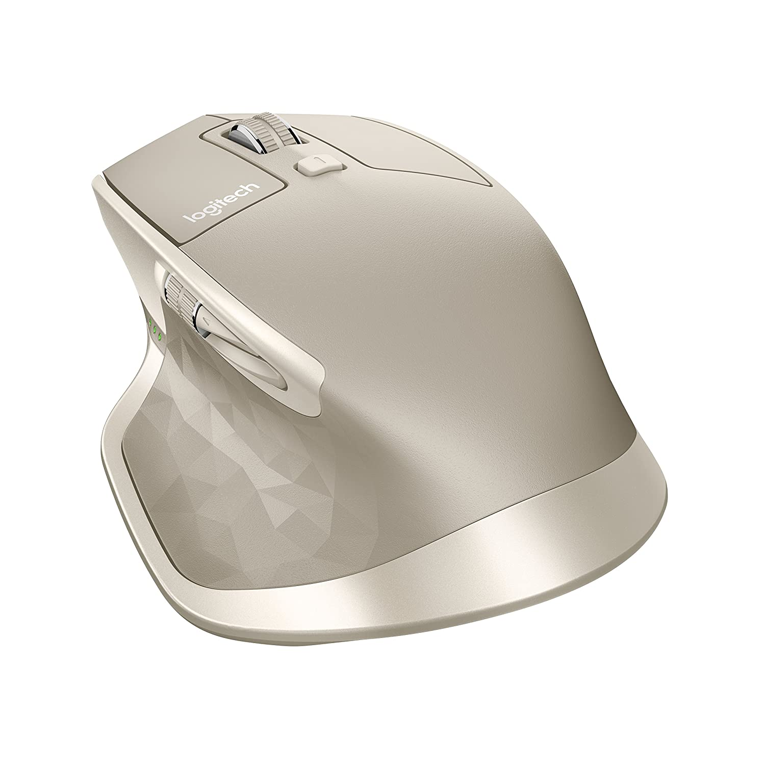 Amazon Logitech MX Master Wireless Mouse – High precision Sensor Speed adaptive Scroll Wheel Thumb Scroll Wheel Easy Switch up to 3 Devices – Stone