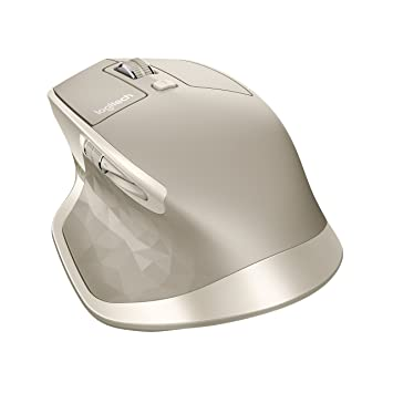 ea32ff7e162 Logitech MX Master Wireless Mouse/Bluetooth Mouse for Windows and Mac -  Stone: Amazon.co.uk: Computers & Accessories