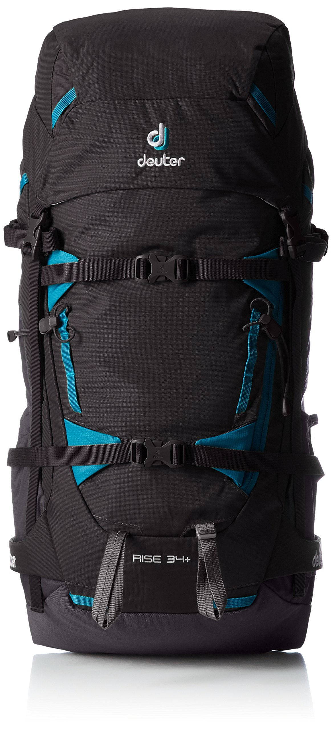 Deuter Rise 34+ Hiking Pack (Black/Graphite)
