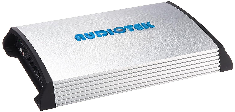 Audiotek at840s 2 canales clase AB 2 Ohm Estable 2400 W coche amplificador de potencia estéreo w/control de graves: Amazon.es: Electrónica