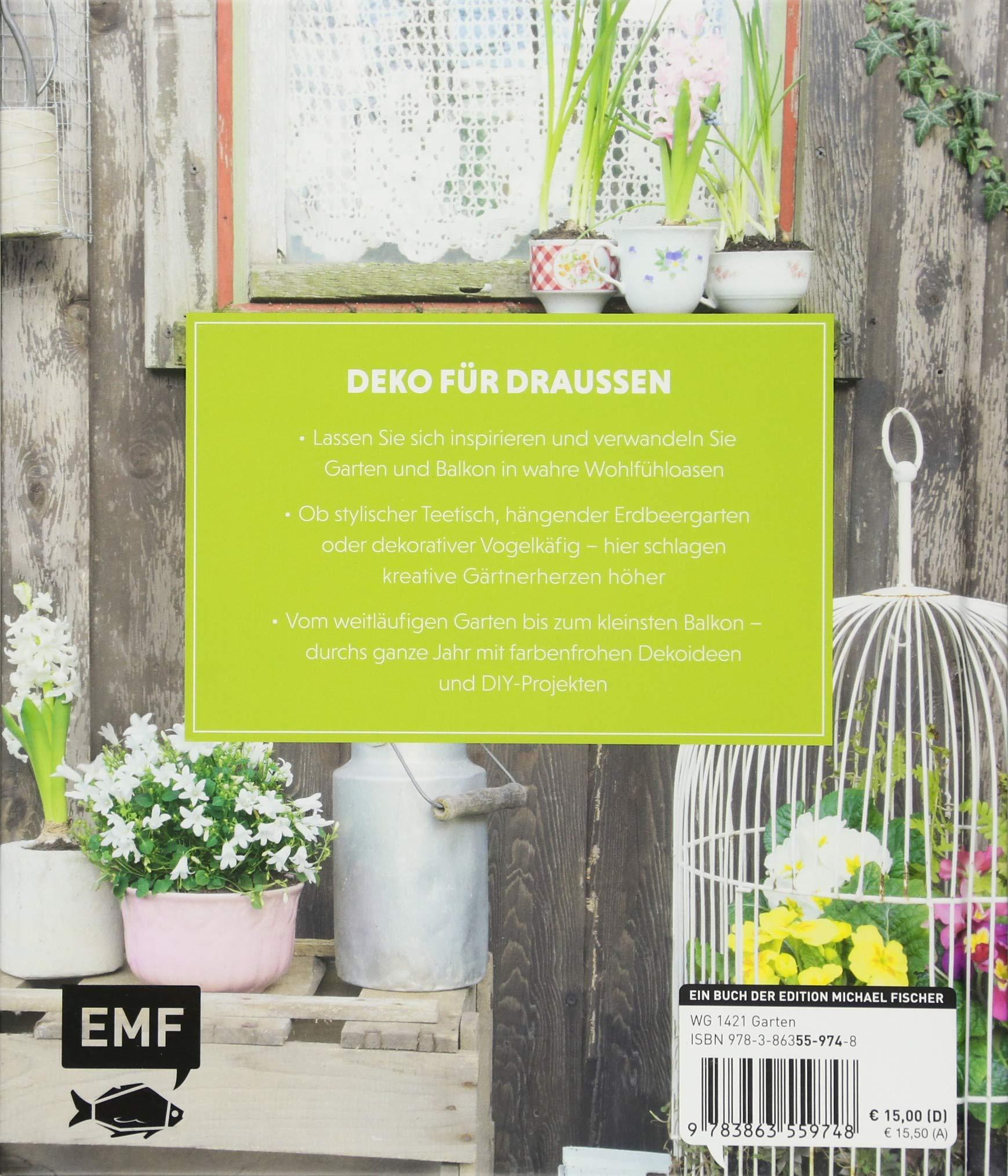 Draußen-Deko: DIY-Projekte für Garten, Terrasse und Balkon: Amazon ...