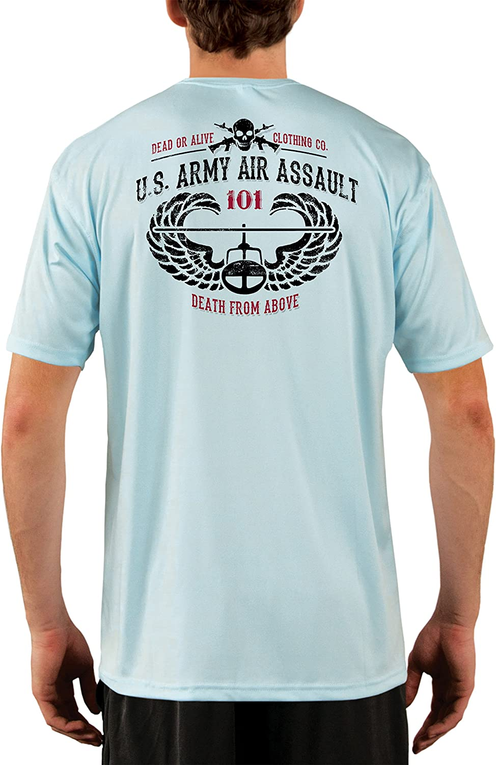 Dead Or Alive Clothing Men's U.S. Army Air Assault UPF 50+ Short Sleeve T-Shirt