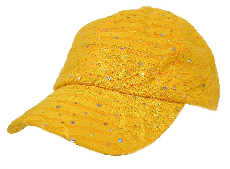 Sparkle Caps - Yellow