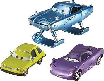 Cars 2 V6750 - Pack 3 Coches Personajes (Mattel): Amazon.es: Juguetes y juegos