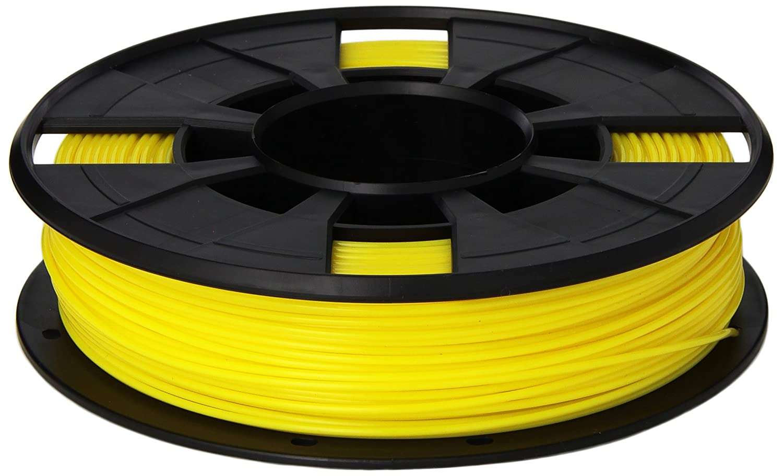 MakerBot PLA Filament, 1.75 mm Diameter, Small Spool, Yellow MP05791
