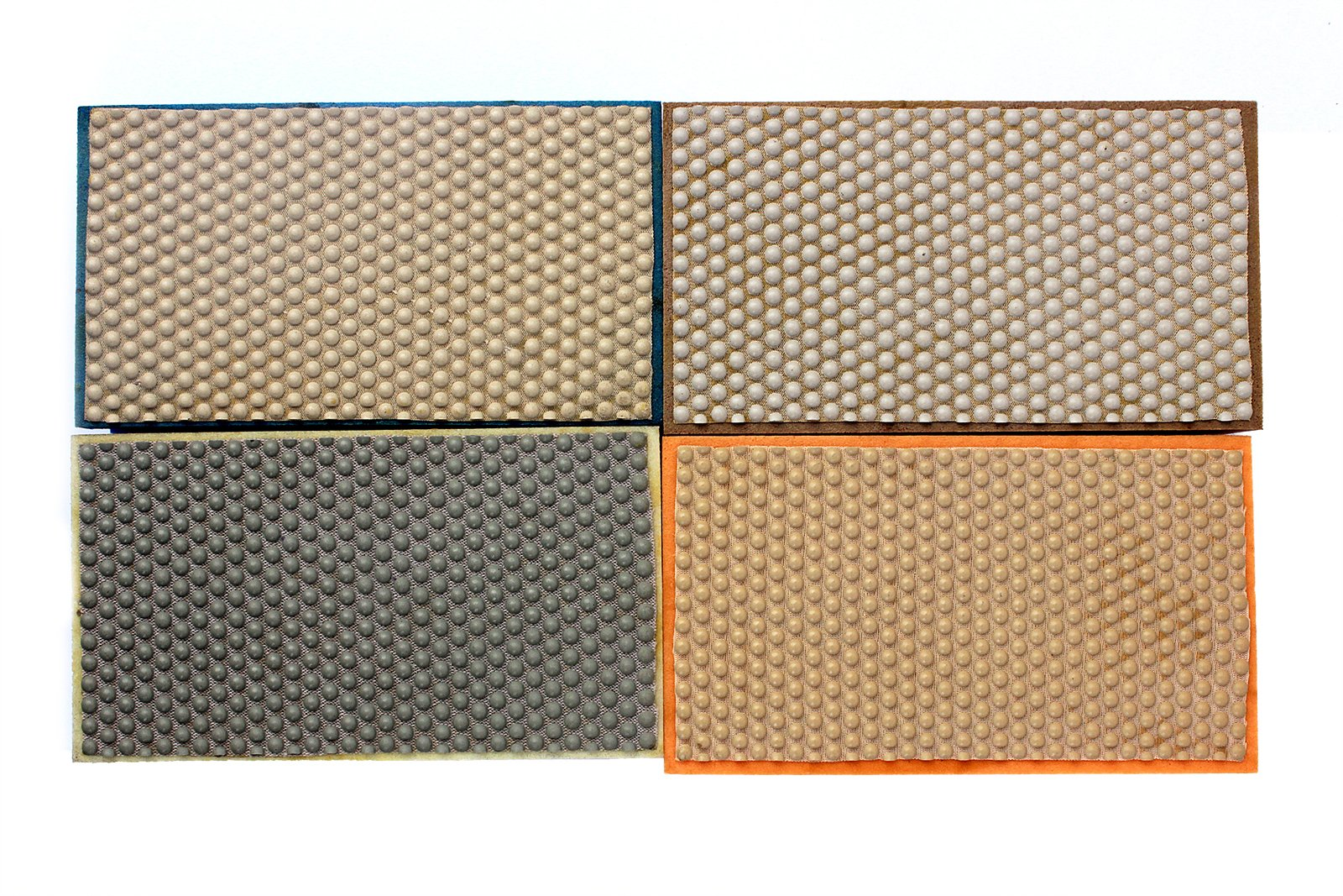 Z-Lion Resin Diamond Hand Sanding Pads for Stone Glass Ceramic Marble Granite,Set of 4 Pcs by Z-LION (Image #3)