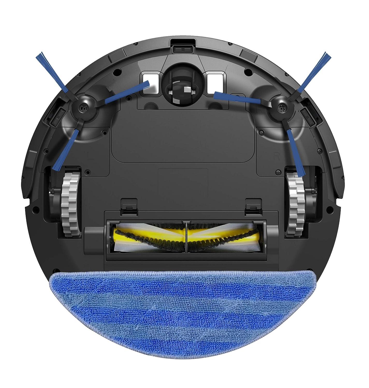 E. ziclean Robot Aspirador Limpiador, plástico, Negro: Amazon.es ...