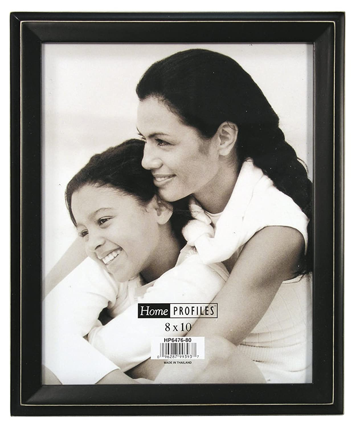 8 by 10-Inch Malden Home Profiles Colonial Black Fashion Wood Frame