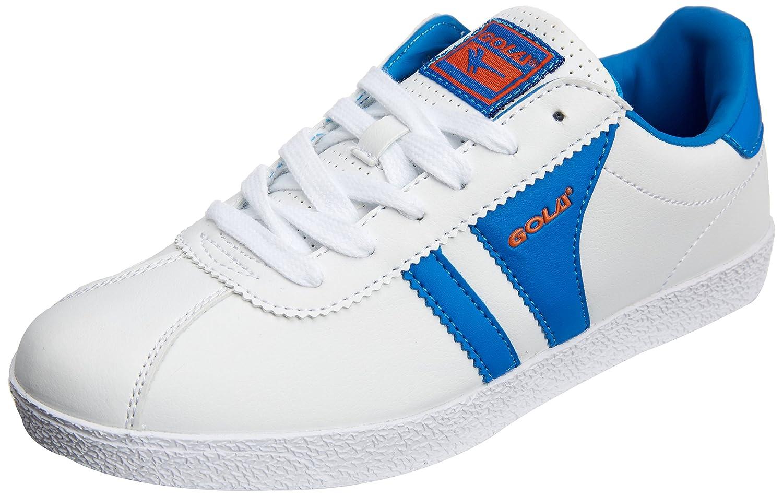Gola Amhurst White//Blue Junior Sneakers