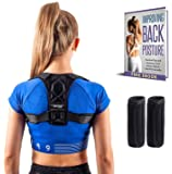 MEDBACK Poor Posture Corrector and Clavicle Back Support for Men and Women Eliminates Rounded Shoulders and Hunchback