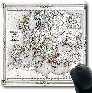Alfombrilla de ratón para juegos Cruces geográficas personalizadas ...