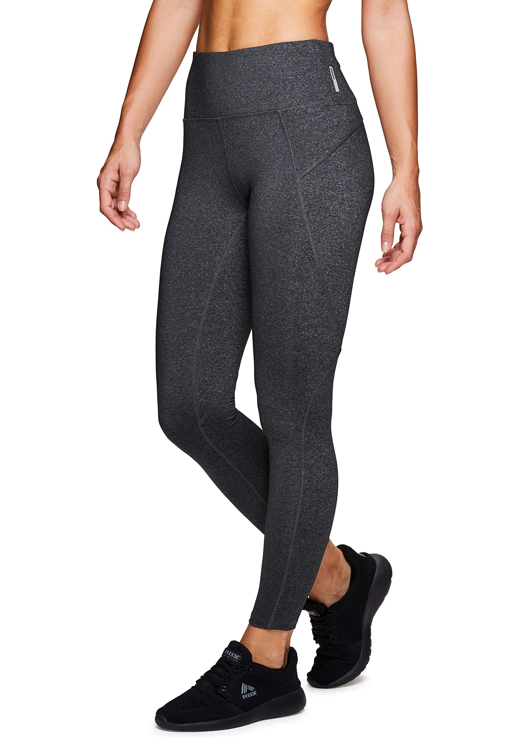 RBX Active Women's Athletic Yoga Workout Leggings Grey M by RBX