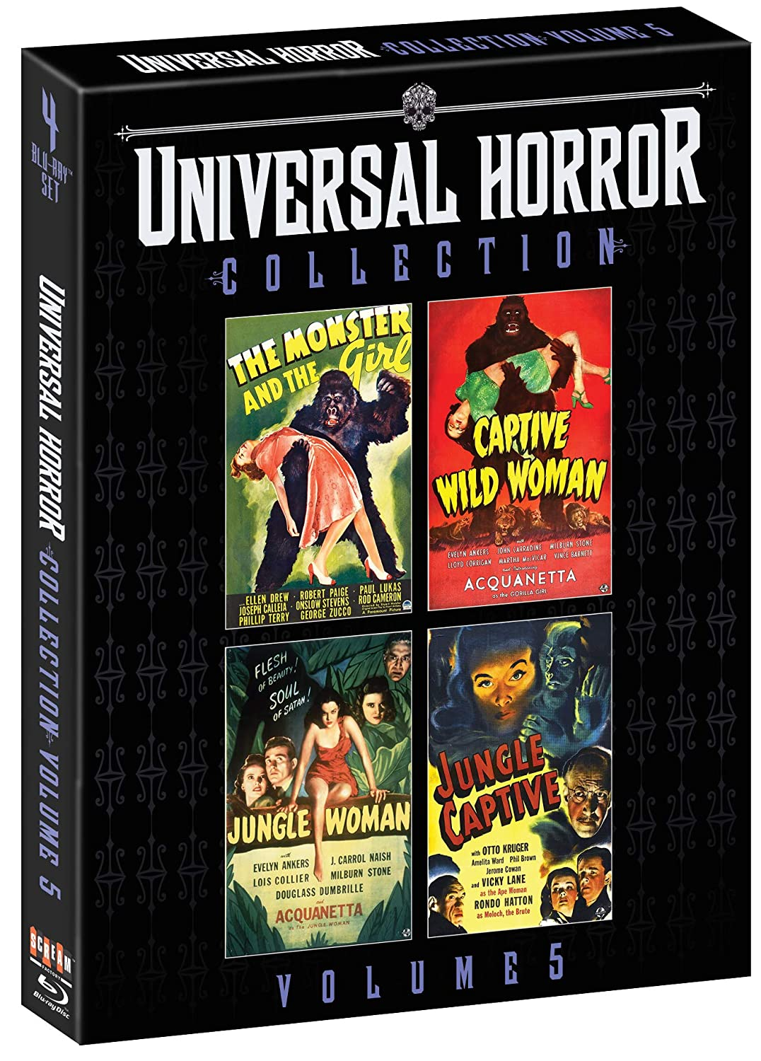 Universal Horror Collection: Volume 5 [Blu-ray]