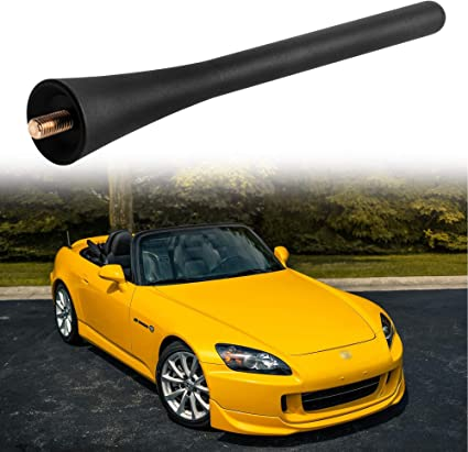 """Black 9/"""" Short Stubby Aerial Antenna Fit For Honda S2000 CR-V Element"""