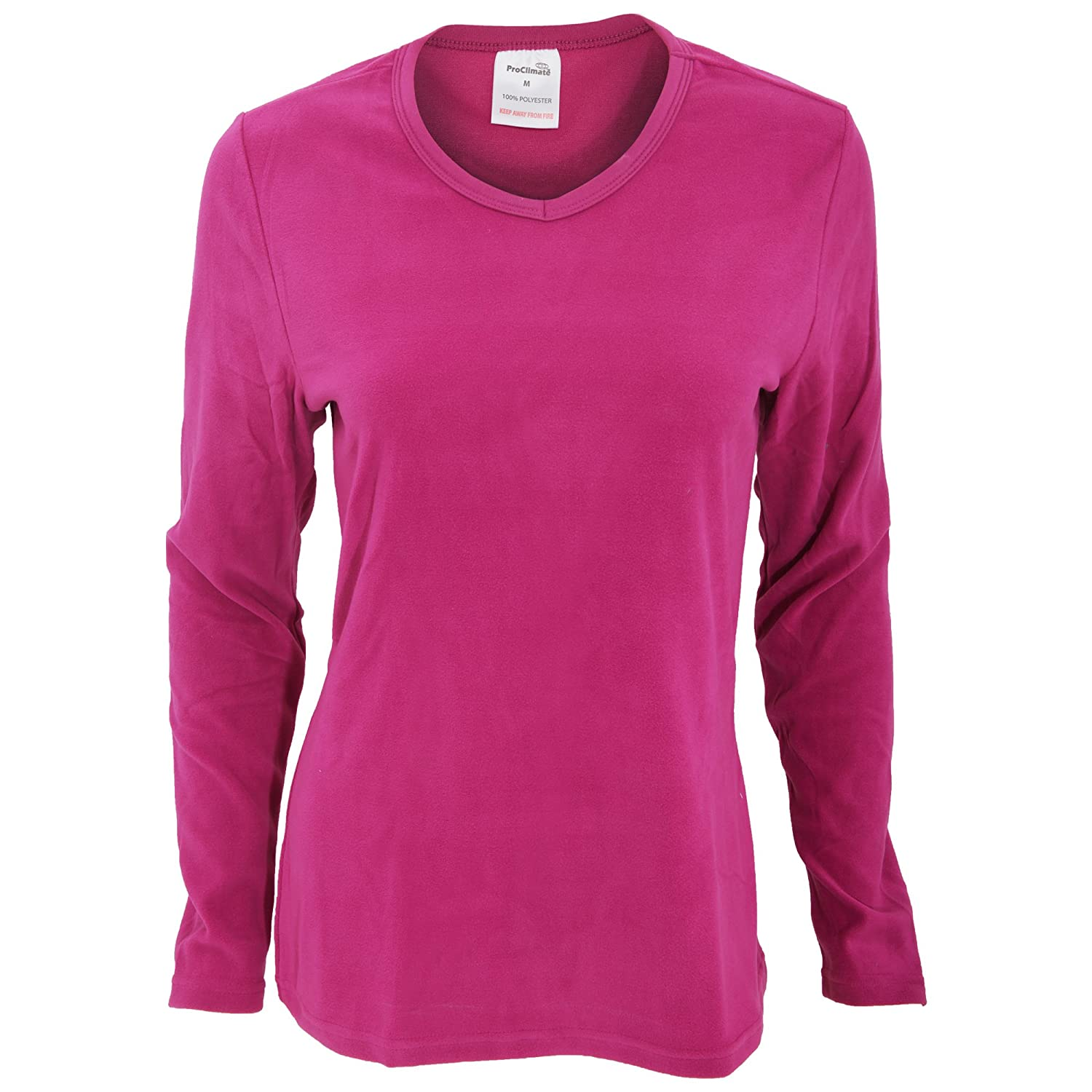 Pro Climate Womens/Ladies Thermal Long Sleeve V-Neck Top ProClimate