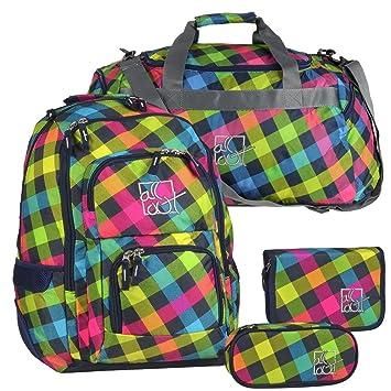 Juego de mochila escolar mochila + Estuche + Estuche + Bolsa ...