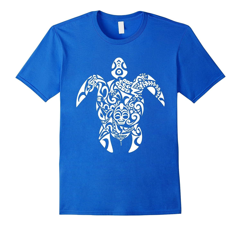 df253bec Tribal Turtle - Hawaiian Polynesian Maori T shirt-ANZ ⋆ Anztshirt