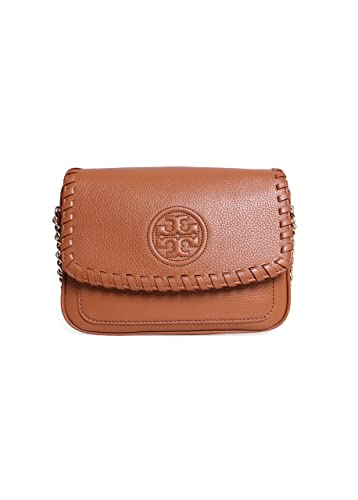 5ba276c5f23 Tory Burch Marion Mini Bag in Bark  Handbags  Amazon.com