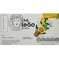 Cápsula de Chá Laranja, Maracujá e Gengibre Leão Senses com 10 Unidades