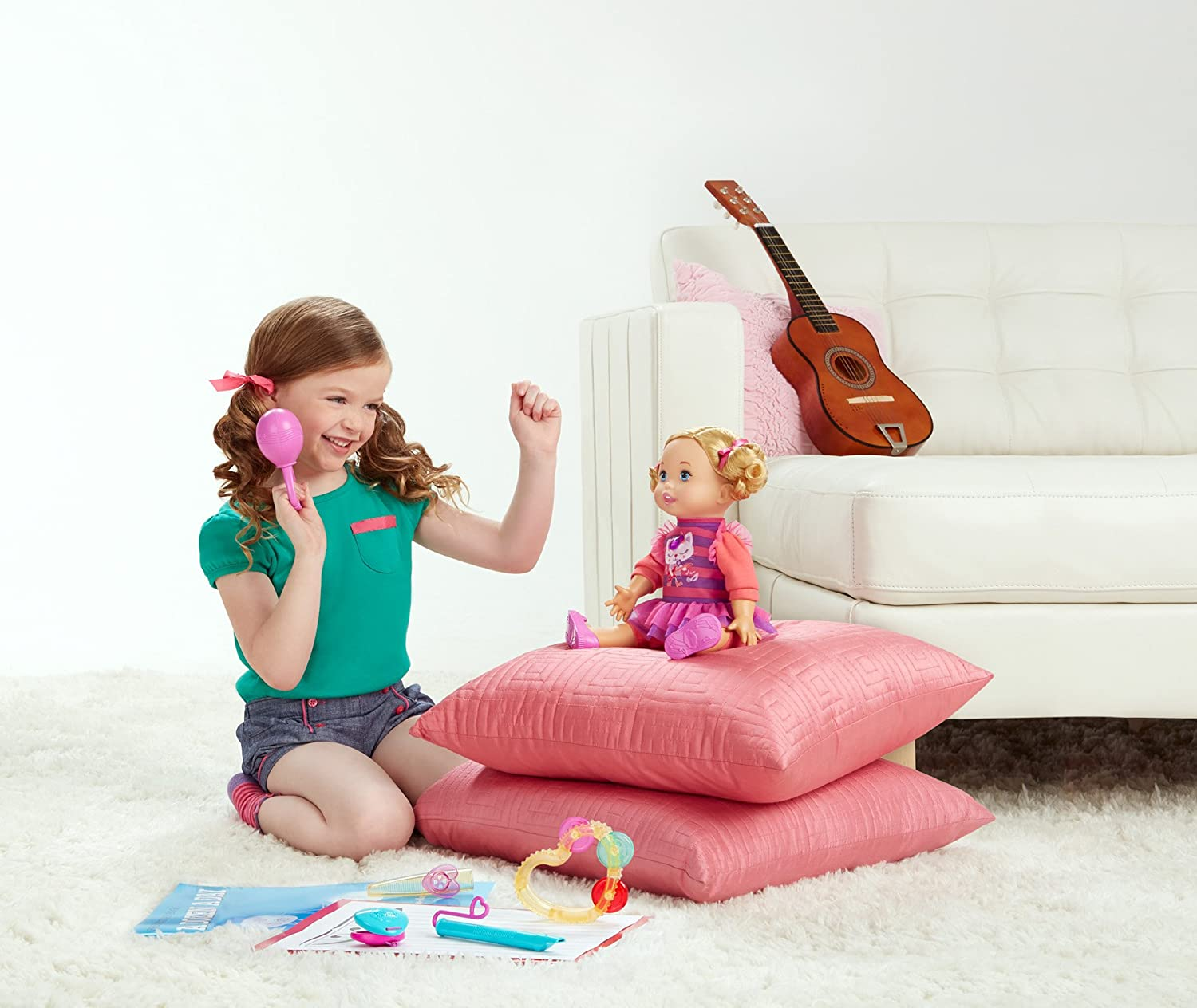 Little Mommy Lets Make Music Doll
