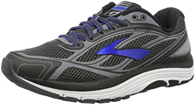 171df77efb4 Brooks Men s Dyad 9 Asphalt Electric Brooks Blue Black 7 ...