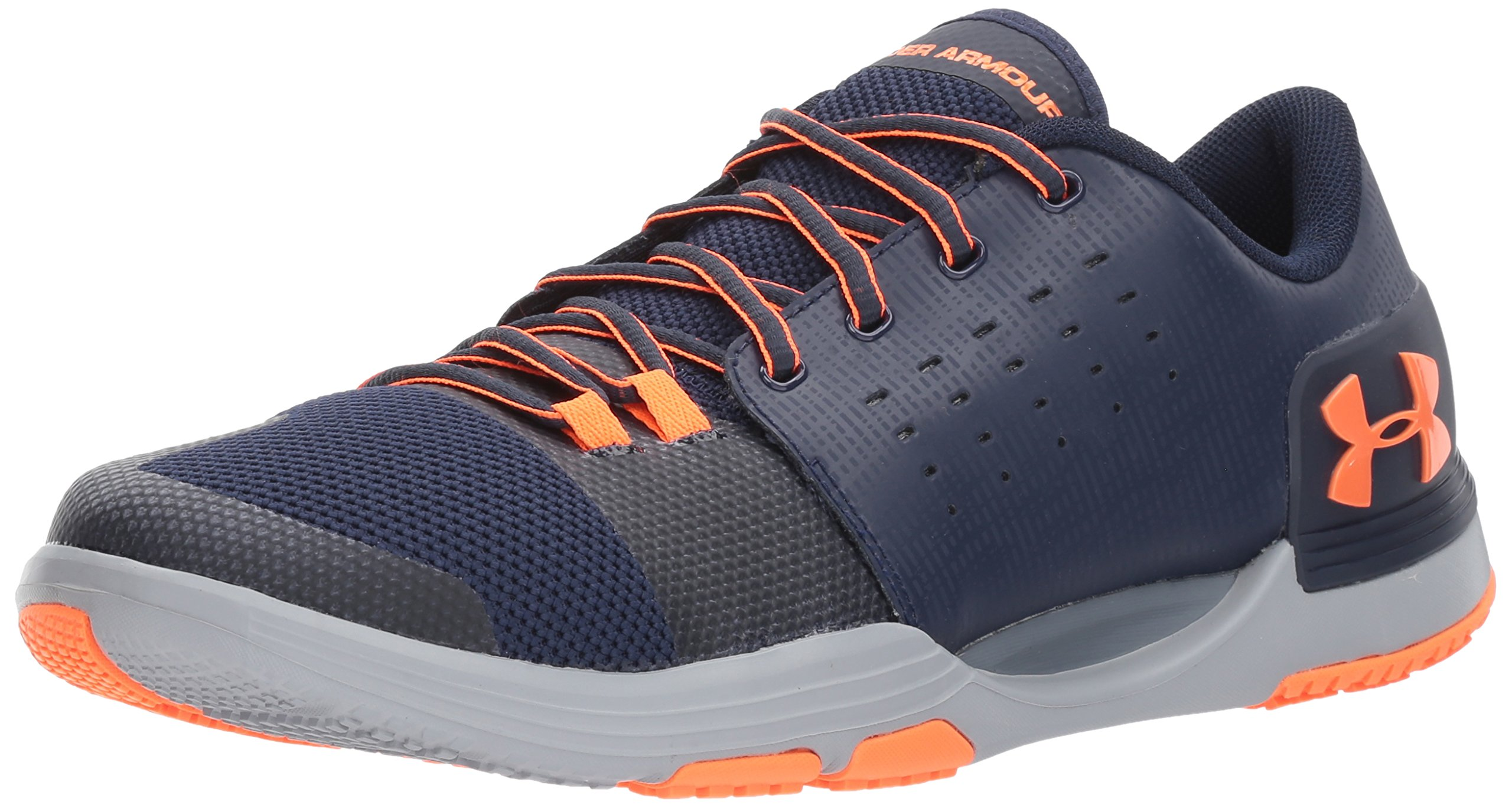 Under Armour Men's Limitless 3 Sneaker, Midnight Navy (400)/Overcast Gray, 11.5