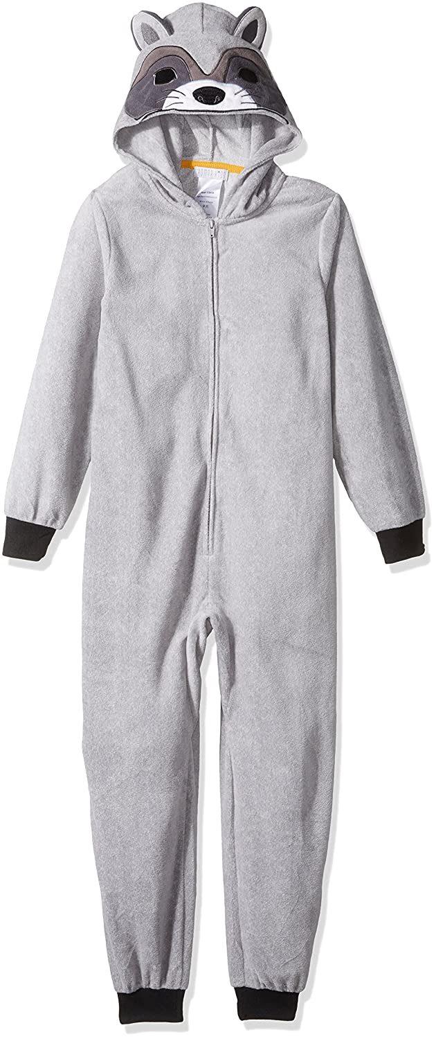 Komar Kids Boys' Big Raccoon Hooded Blanket Sleeper K172205