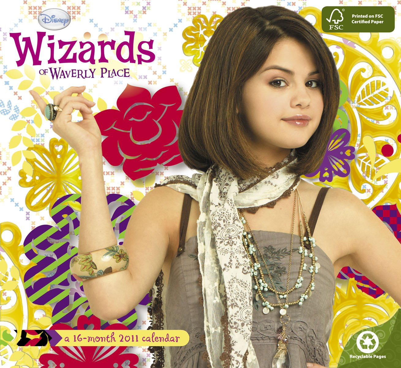 2011 wizards of waverly place wall calendar day dream