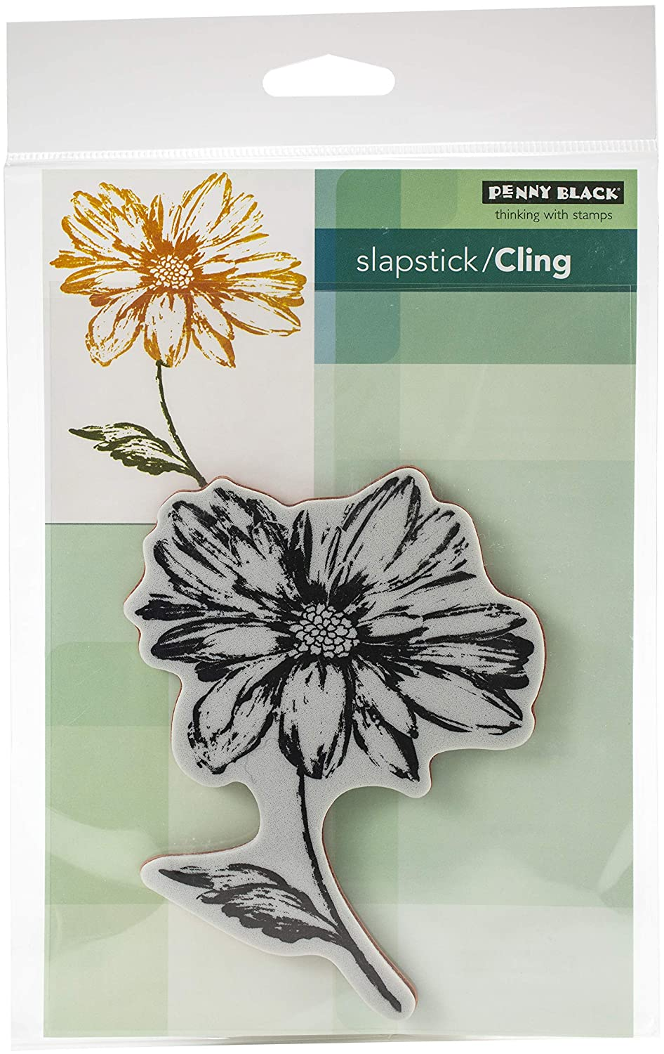 Penny Black Cling Stamps-radiant 3.8x4.9