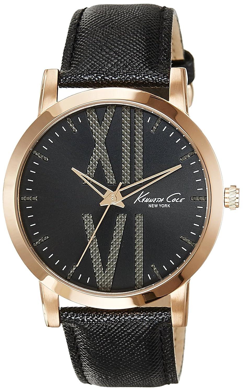 5mm Kenneth Armband 43 Armbanduhr Leder Cole Herren wnN0m8