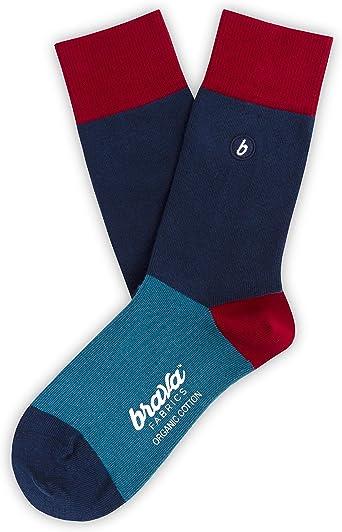 Brava Fabrics - Calcetines - Calcetines de Algodón Orgánico - 100% Algodón Orgánico - Calcetines Nippon: Amazon.es: Ropa y accesorios