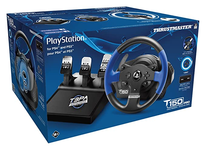 Thrustmaster T150 Pro Racing Wheel for PS4: Playstation 4