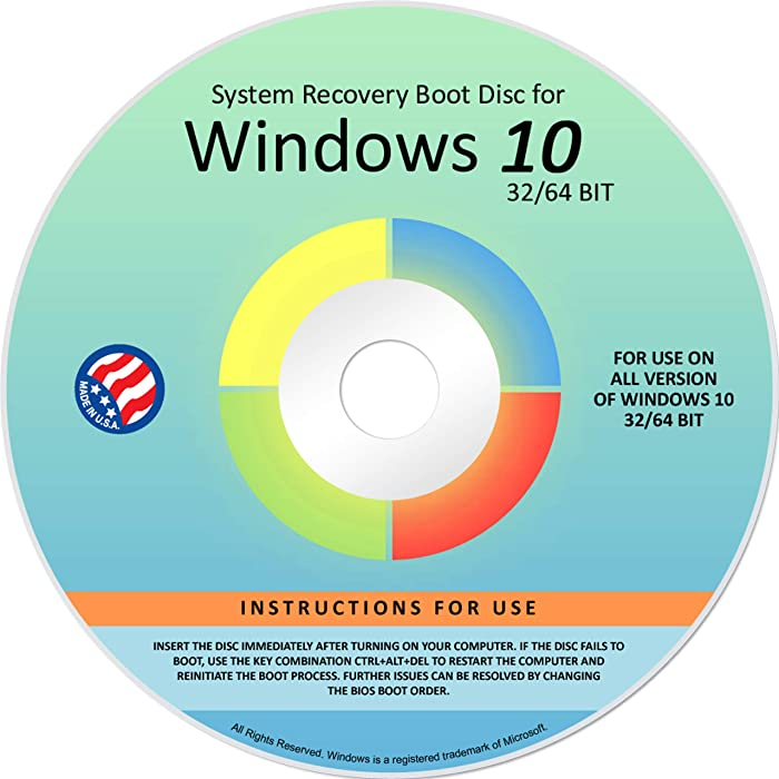 Top 10 Windows Vista Home Basic Recovery Disc