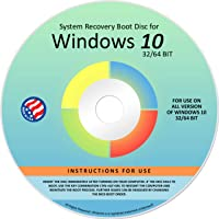 Ralix Reinstall DVD For Windows 10 All Versions 32/64 bit. Recover, Restore, Repair Boot Disc, and Install to Factory…