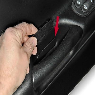MIDWEST CORVETTE C5 Corvette Door Panel Access Plug Insert Cover Fits: All 97 Through 04 Corvettes: Automotive