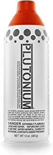 product image for PLUTONIUM Paint Ultra Supreme Professional Aerosol Spray Paint, 12-Ounce, Hot Sauce Red